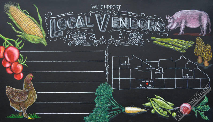 Call Now 615 482 2839 Chalk Artist For Hire Professional Chalkboard Mural Lettering Artist Cj Hughes