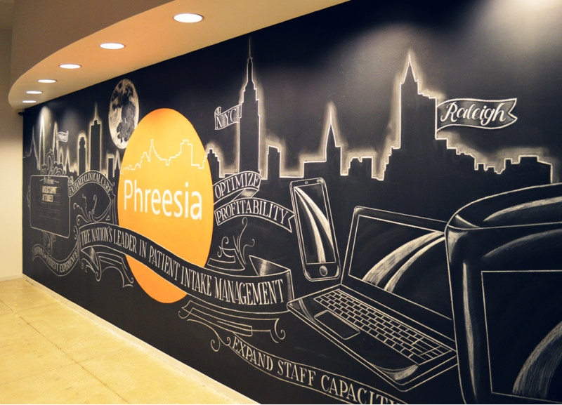 Corporate Office Wall Murals  Permanent U0026 Temporary Options