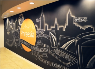 time lapse chalk mural artist, Mary Kate McDevitt